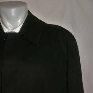 Burberry London Removable Lining Black Trench Coat